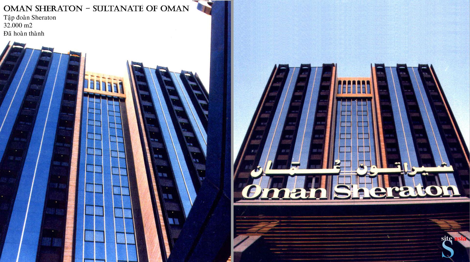 Oman sheraton hotel sultanate of oman site asia for Designhotel oman